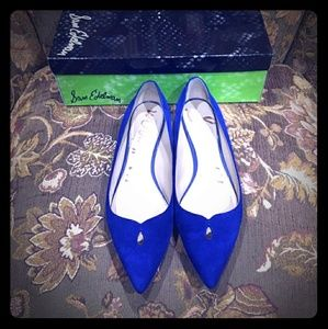Sam Edelman flat blue shoes